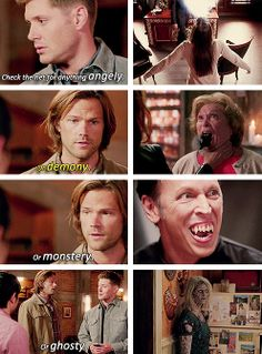 [gifset] It's gonna be a busy year. 9x02 Devil May Care #SPN #Dean #Sam