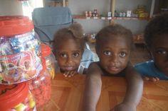 Cheeky little kids. Vanuatu.