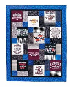 Additional Images of T Shirt Quilts Made Easy by Martha DeLeonardis - ConnectingThreads.com