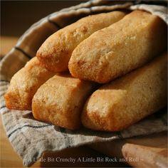 A Little Bit Crunchy A Little Bit Rock and Roll: Yeast-Raised Cornbread Sticks
