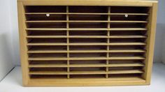 NAPA VALLEY 30 Cassette Natural Wood Wooden Storage Wall Hung    Consumer Electronics, TV, Video & Home Audio, TV, Video & Audio Accessories   eBay!
