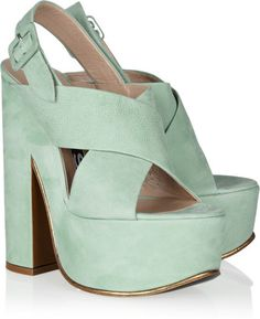 These are everything! Rochas mint platforms.