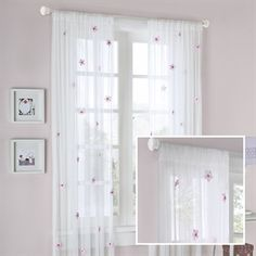 Lily Allover Flower Curtain19,59