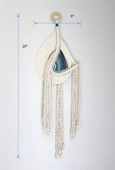 Sale Macrame Wall Hanging Pipeline no.4 by HIMO ART One by HIMOART