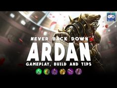 Never back down! - Vainglory Ardan gameplay, build and tips - Update 2.2