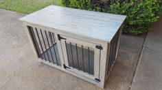 Dog crate furniture by HunterConcepts on Etsy