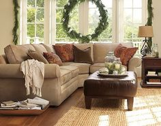 Traditional Home Beige Sectional Sofa Design, Pictures, Remodel, Decor and Ideas - page 26