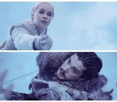 I know its his aunt but seriously the two biggest badasses just hooked up. Goals. Haha be scared lannisters