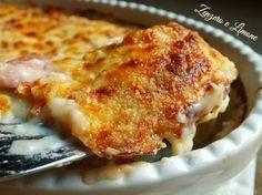 parmigiana bianca di patate - dettaglio