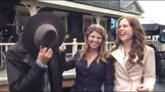 When Calls The Heart Season 2 Behind The Scenes Daniel Lissing, Lori Loughlin & Erin Krakow  When Calls the Heart #WCTH #Hearties #WhenCallstheHeart