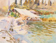 Lake Garda by John Singer Sargent | Art Posters & Prints