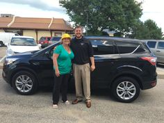 MELISSA's new 2017 Ford Escape! Congratulations and best wishes from Kunes Country Ford Lincoln of Delavan and Mikey Kunes.