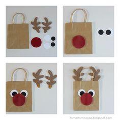 Christmas Gift Bags, Homemade Christmas Gifts, Christmas Gift Wrapping, Christmas Crafts For Kids, Christmas Diy, Christmas Decorations, Xmas, 242, Diy Gifts