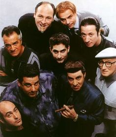 The Sopranos. Another HBO gem. I think we binge watched the entire series in one week.