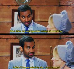 "I didn't know what to do (""Parks & Recreation"")"