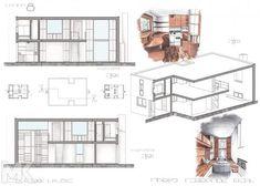 Esherick House, Louis Kahn, House Plans, Floor Plans, Flooring, Projects, Arquitetura, House Architecture, Home Plans