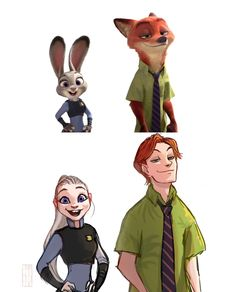 zootopia as humans