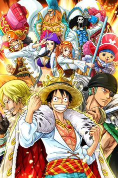 """One Piece: Destiny of the """"D"""" Every 20 Years, Luffy's Turn? One Piece Manga, One Piece Film, One Piece New World, One Piece Series, One Piece Crew, One Piece Drawing, Zoro One Piece, One Piece Fanart, Tokyo Ghoul"""