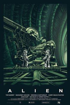 Fan Póster de Alien por Nicolas Alejandro Barbera en deviantart