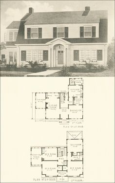 1000 ideas about dutch colonial homes on pinterest for Dutch colonial house plans