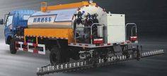 High operating asphalt Sprinkle cloth car