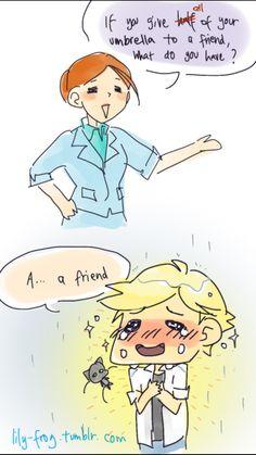 Cute tumblr Miraculous Ladybug comic (2/2)