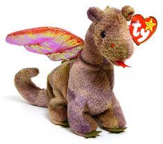 b511d253e6e Scorch - dragon - Ty Beanie Baby Ty Babies