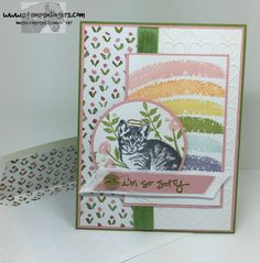 Stamps-N-Lingers.  SU! Over the Rainbow, Number of Years and Greatest Greetings. http://stampsnlingers.com/2016/04/03/stampin-up-greatest-greetings-rainbow-kitty-sympathy-card/