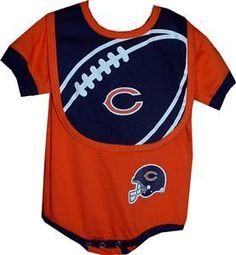 1000+ images about Chicago bear baby clothes on Pinterest ...