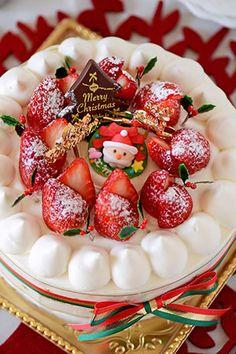 JUNAっちの食卓へようこそ!「ママが作るスペシャルクリスマスケーキ」 | お菓子・パンのレシピや作り方【corecle*コレクル】