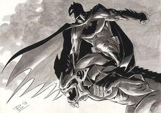 Batman by Paco Baidal