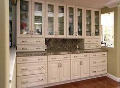 Cream Maple Kitchen Cabinets | Kitchen Pro