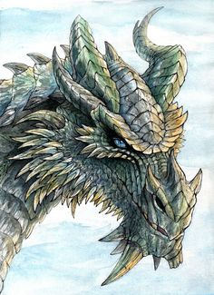 A piece of art that somehow gives me hope. Watercolor and fineliner, Art (c) RavenCorona Paarthurnax from TES (c) Bethesda Ancient mentor Elder Scrolls Games, Elder Scrolls V Skyrim, Skyrim Drawing, High Fantasy, Fantasy Art, Skyrim Gif, Skyrim Tattoo, Medieval, Dragon Art