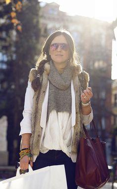 Moda en la calle en Madrid: Vanessa Bruno