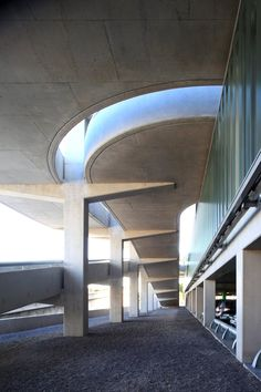 Marc Barani Architecte, Muoto Architectes, Serge Demailly · Parking Aéroport de Nice