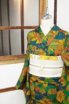 vintage inspired kimono