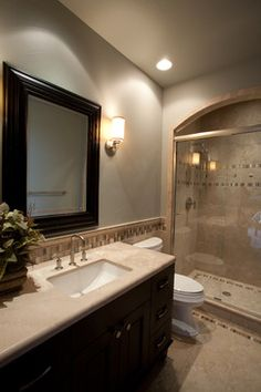 Master Bathroom Tile Ideas Design Ideas, Pictures, Remodel, and Decor - page 10