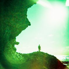camerongardnerphoto:  Photo of me exploring caves in Laguna Beach www.camerongardner.com  #poler #polerstuff #campvibes