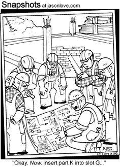 Construction cartoons, Construction cartoon, funny ...