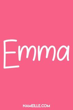 Emma I Super Cute Baby Names for Girls I Nameille.com