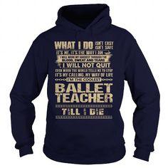 Awesome Tee For Ballet Teacher - #groomsmen gift #hostess gift.  Awesome Tee For Ballet Teacher, cool shirt,funny hoodie. SATISFACTION GUARANTEED =>...