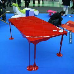 table peinture