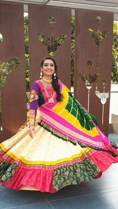 Garba Dress, Navratri Dress, Choli Dress, Anarkali Frock, Lehenga Gown, Lehenga Blouse, Happy Navratri, Navratri Special, Blouse Designs Silk