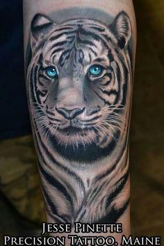 Tattoo artist Jesse Pinette