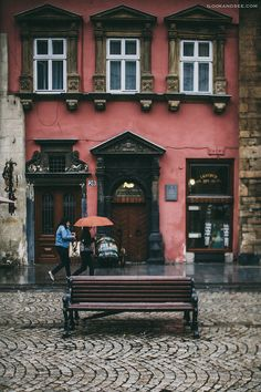 Lviv is Love. Autumn If for some reason I really wanted to leave Kiev, I would choose Lviv from all Ursula, Most Beautiful Cities, City Streets, Eastern Europe, Romania, The Good Place, Beautiful Pictures, Around The Worlds, Villa