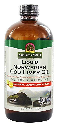 Natures Answer Cod Liver Oil 16Fluid Ounces *** See this great product. (This is an affiliate link)