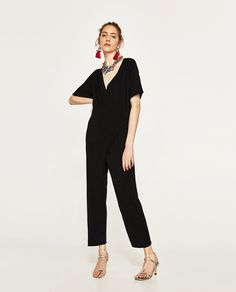ZARA - WOMAN - CROSSOVER JUMPSUIT