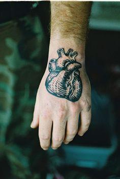 Tattoo - Heart - On sleeve