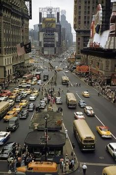New York City, ca. 1958 ~ @HistoryInPix on Twitter