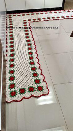 Olá meninassss.depois de muitos dias crochetando,hoje venho mostrar o resultado de uma         maravilhoso trabalho.Fiz esse ta...